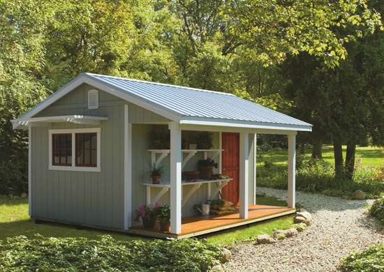 9 Simple Ways To Make Your Shed Match Your House Bob Vila