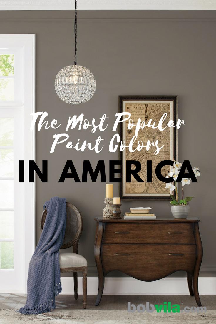 The Most Popular Paint Colors In America Bob Vila