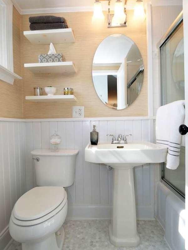 Ванная комната в загородном стиле