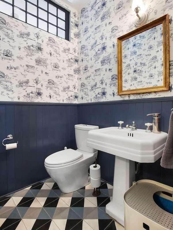 Крошечная ванная комната