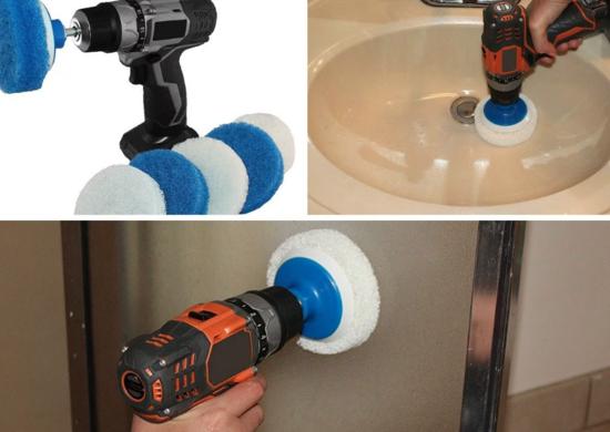 Насадка для чистки ванных комнат RotoScrub