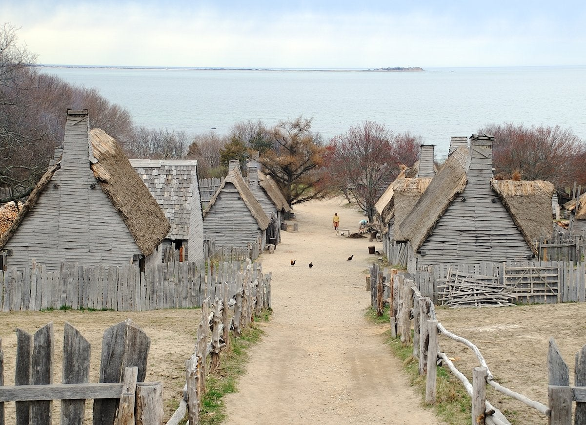 What It Was Like Inside the Homes of the Pilgrims
