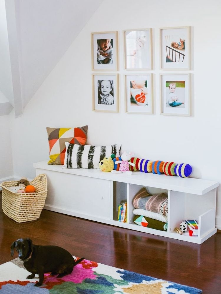 20 Diy Storage Benches You Can Make, Storage Seats For Living Room