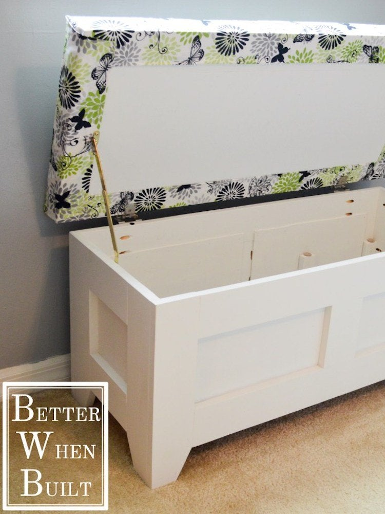 20 Diy Storage Benches You Can Make, Wood Bench With Storage Plans