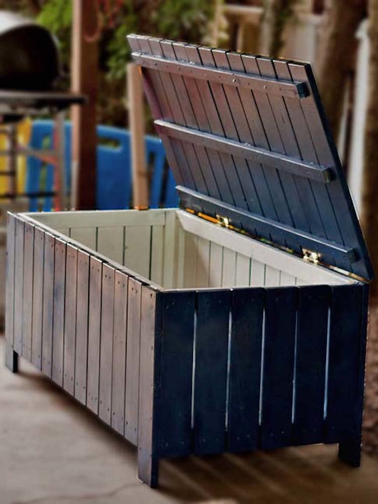 20 Diy Storage Benches You Can Make, Diy Outdoor Seat With Storage