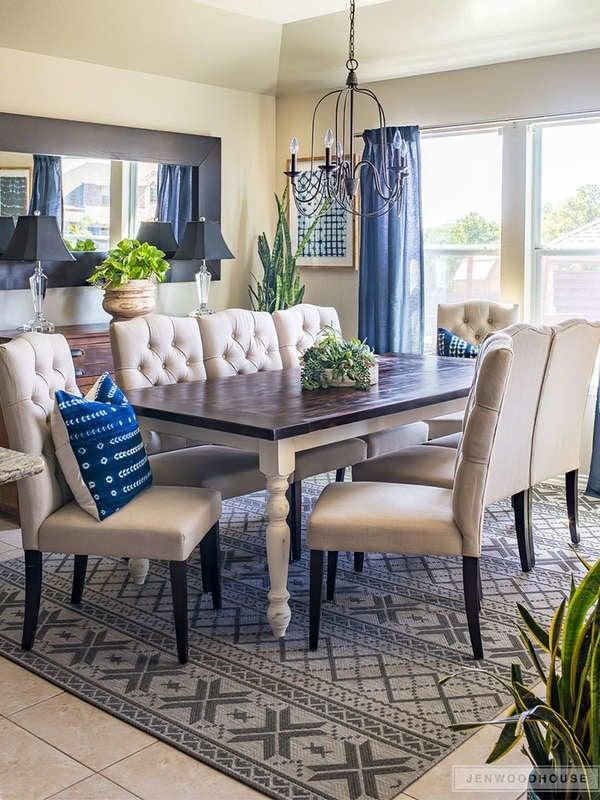 Обеденный стол в загородном стиле своими руками