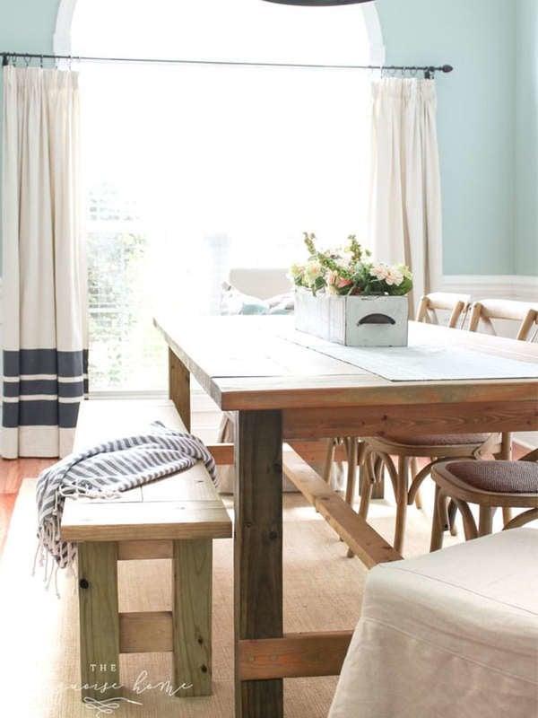 Оливковый обеденный стол своими руками