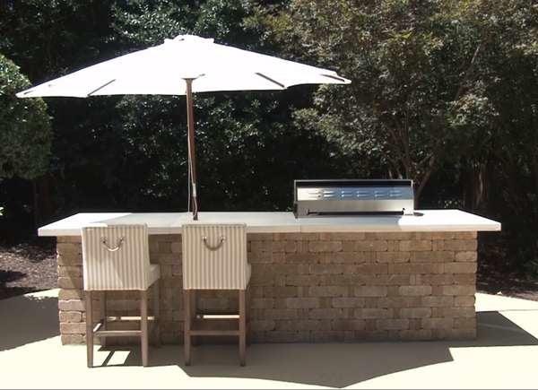 Building An Outdoor Kitchen From Concrete And Stone Bob Vila Bob Vila