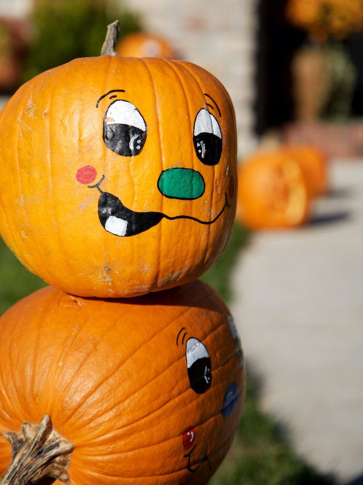 Painted Pumpkins 30 Easy Projects To Perk Up Your Halloween Bob Vila