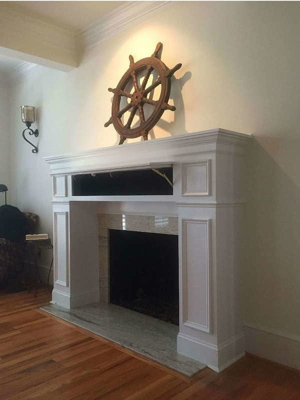 Store Hidden Safes In Mantel Compartments
