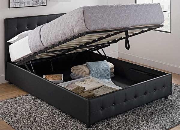 Store Hidden Safes Inside Bed Frames