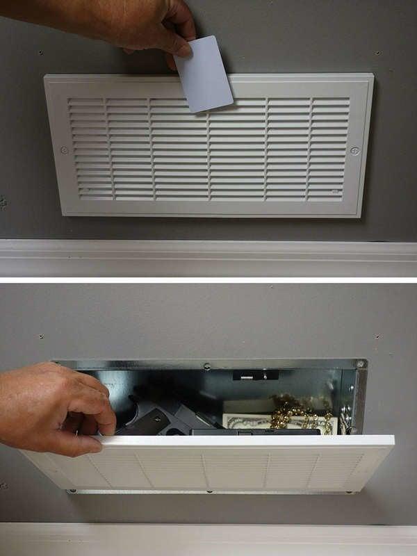 Store Hidden Safes in Vents