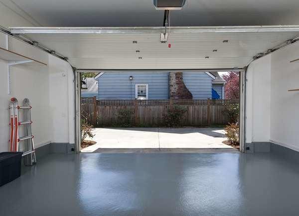 Refinish garage floors winter