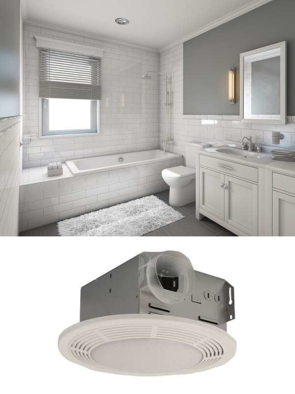 5 Benefits Of A Bathroom Fan Bob Vila, Bathroom Vent Fan With Heater No Light