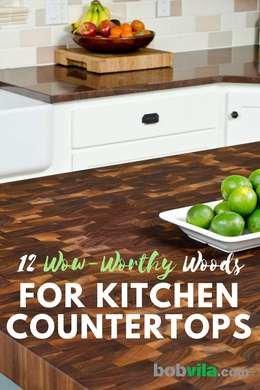 древесина для кухонных столешниц