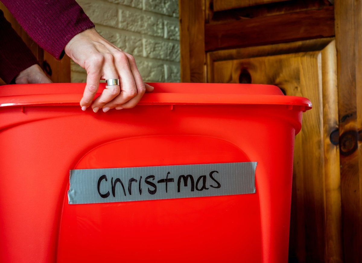 How To Store Christmas Ornaments Other Holiday Decorations Bob Vila