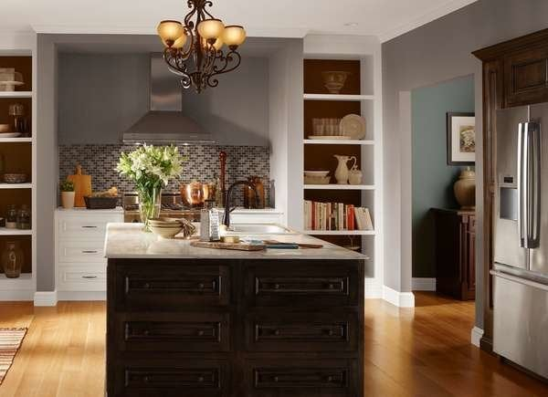 The Best Kitchen Paint Colors From, What Color Should I Paint My Kitchen With Brown Cabinets