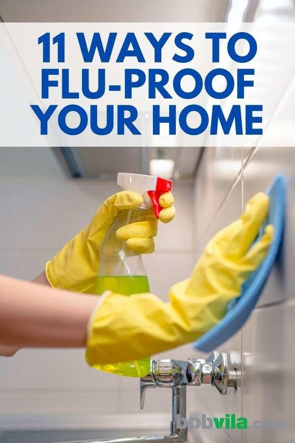 كيف تحمي منزلك من الأنفلونزا