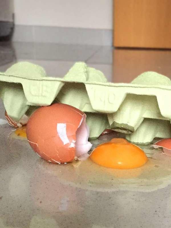 Не мойте яйца уксусом
