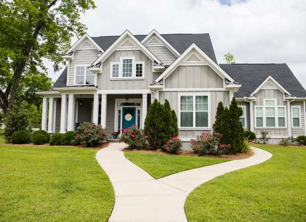 curb appeal house