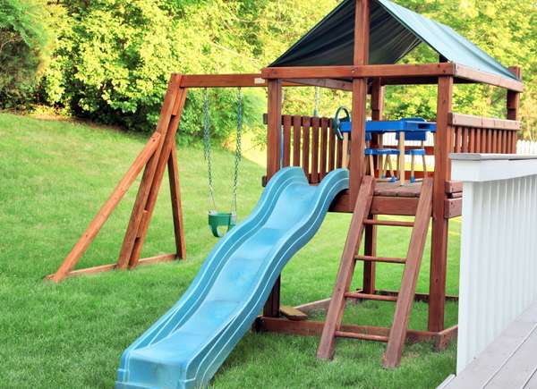 build playset curb appeal