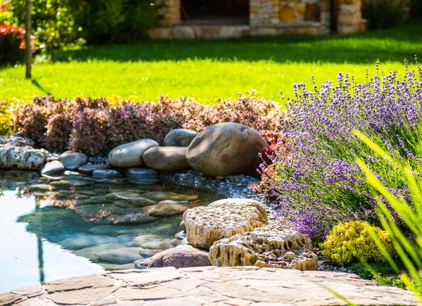 add water feature curb appeal
