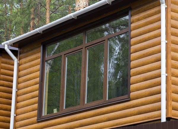 Fake Log Cabin