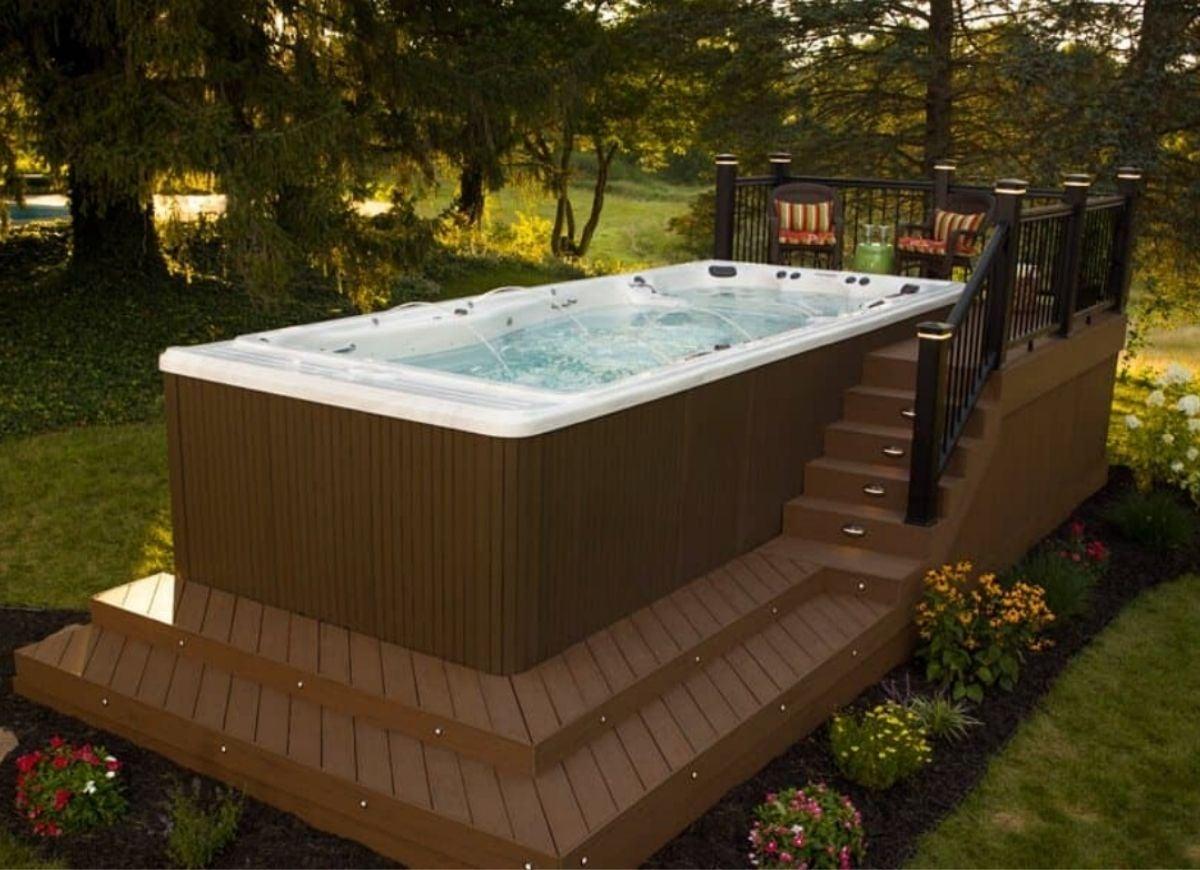 20 Hot Tub Deck Ideas for a Relaxing Backyard   Bob Vila