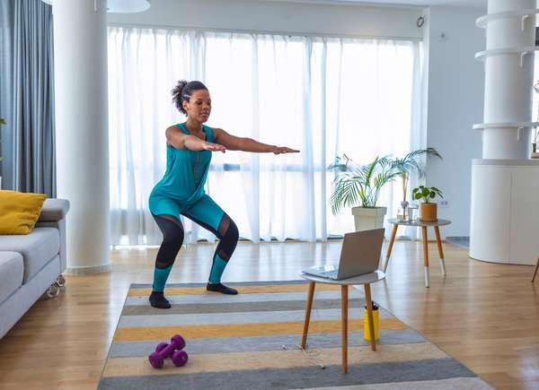Designate a Workout Area