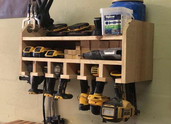 Conveniente garaje para estación de carga