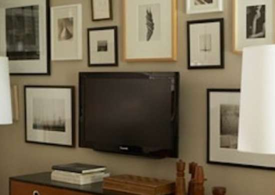 How To Hide A Flat Screen Tv 9 Ways To Make Your Look At Home Bob Vila
