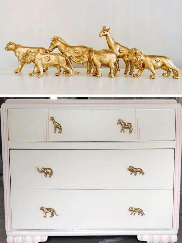 Diy Drawer Pulls 15 Cool Cabinet, Bedroom Furniture Pulls And Handles
