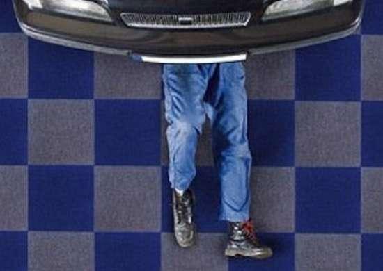Ковровое покрытие для гаража