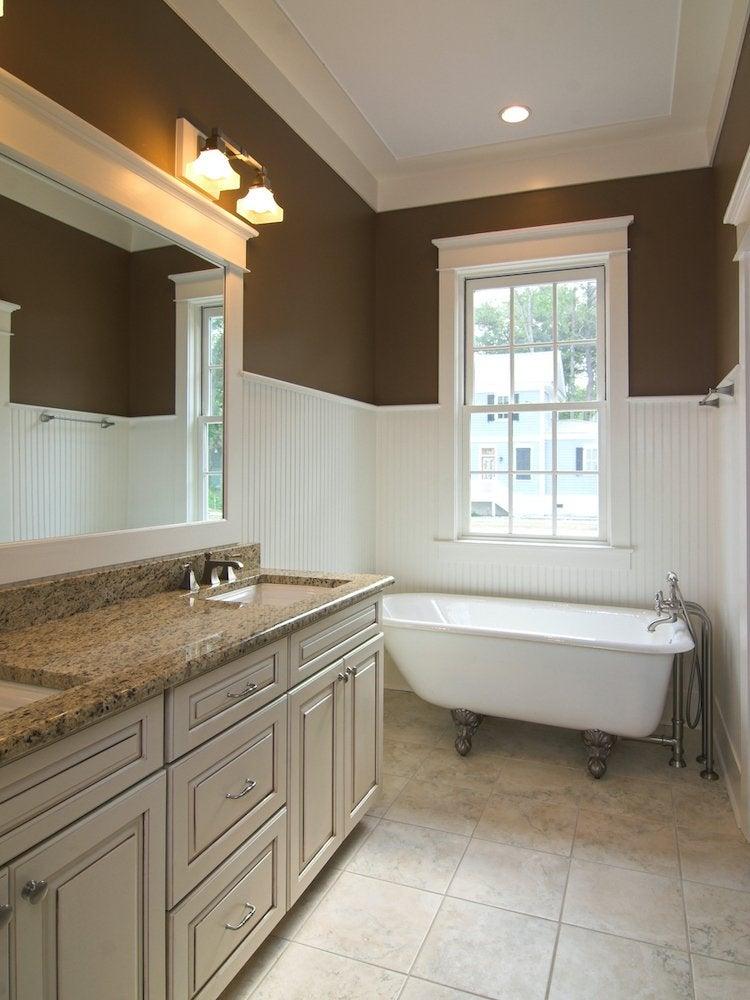 Molding Ideas 9 Ways To Add Wall Trim, Bathroom Wall Trim