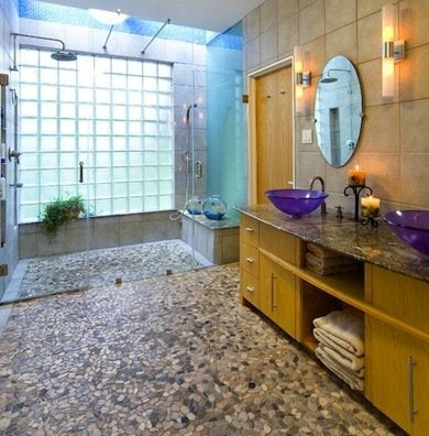 bathroom flooring ideas - fresh ideas beyond tile - bob vila