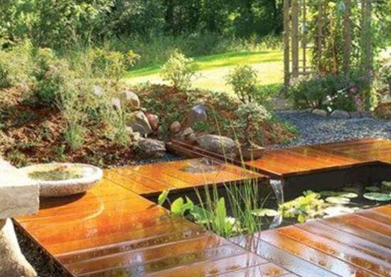 Backyard Ponds 10 Stunning Water, Diy Garden Pond Bridge