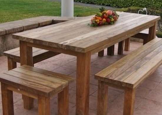 Diy Outdoor Furniture 12 Ways To, Wooden Outdoor Tables