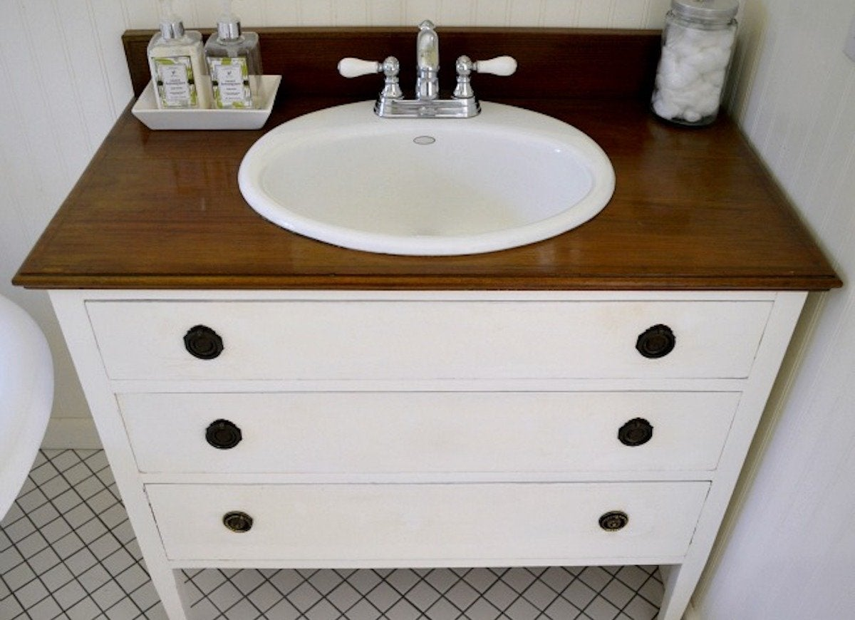Diy Bathroom Vanity 12 Bathroom Rehabs Bob Vila