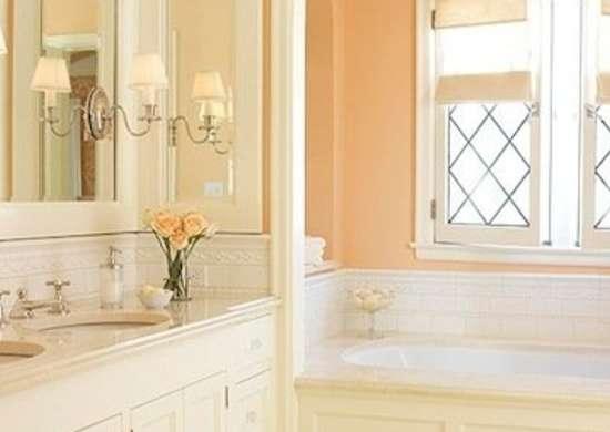 Bathroom Paint Color Ideas 11, What Colours Go With Peach Bathroom Tiles