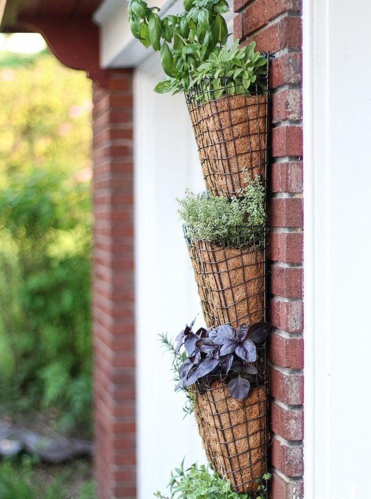 Diy Vertical Garden 14 Ways To Grow, How To Build A Vertical Herb Garden