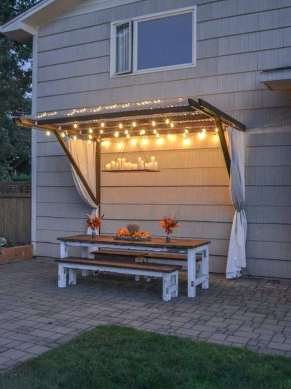 10 Patio Shades Ideas Tips To Cool, Small Patio Canopy Ideas