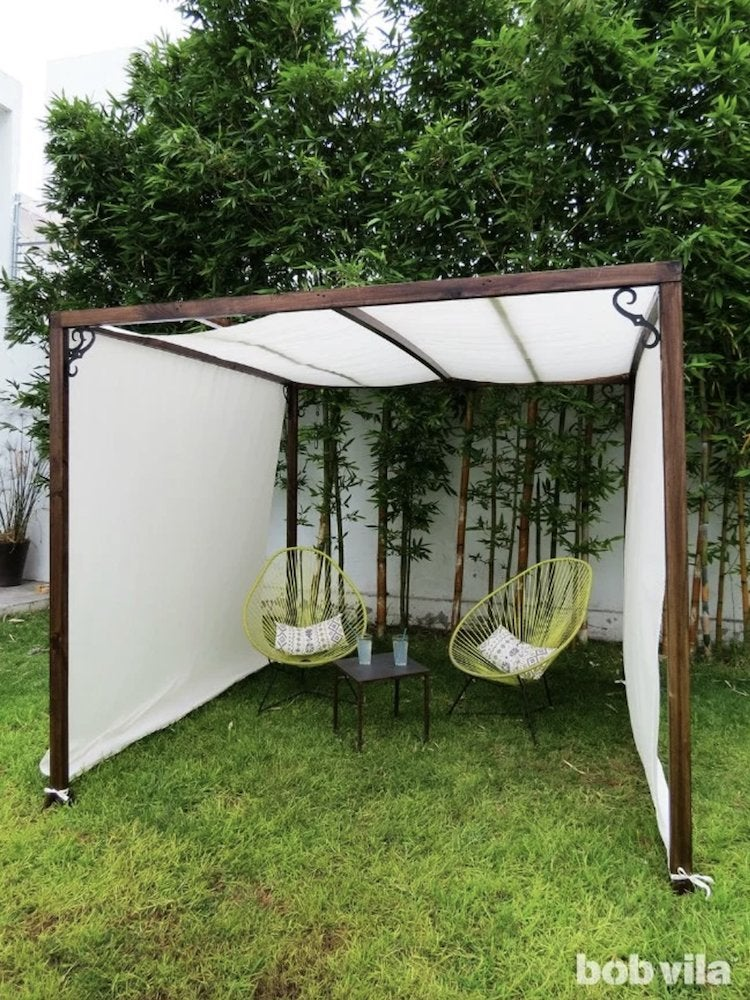 10 Patio Shades Ideas Tips To Cool, Canopy Diy Outdoor